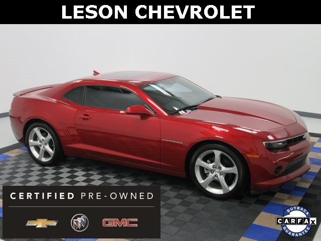 Certified Pre-Owned 2015 Chevrolet Camaro 2LT