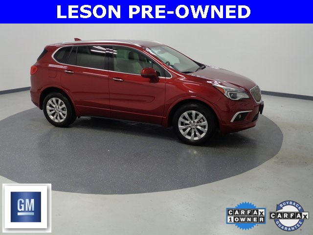 Certified Pre-Owned 2017 Buick Envision Essence