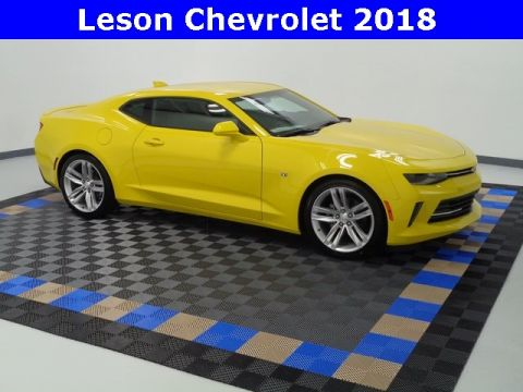 New 2018 Chevrolet Camaro 1LT RWD 2D Coupe