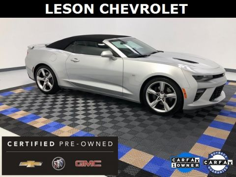 Certified Pre-Owned 2017 Chevrolet Camaro SS RWD 2D Convertible