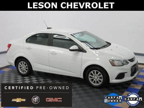 Certified Pre-Owned 2017 Chevrolet Sonic LT FWD 4D Sedan