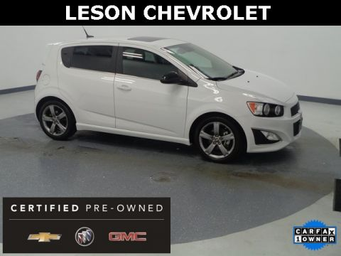 Certified Pre-Owned 2014 Chevrolet Sonic RS FWD 4D Hatchback