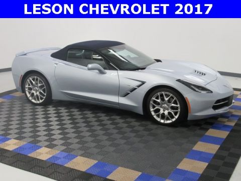 New 2017 Chevrolet Corvette Stingray Z51 RWD Convertible