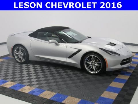 New 2016 Chevrolet Corvette Stingray Z51 RWD Convertible