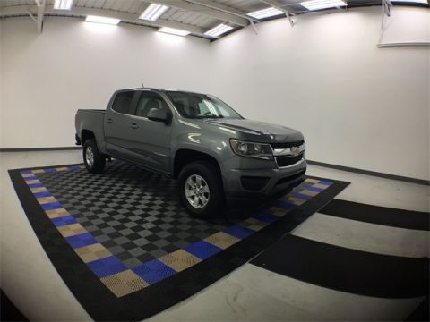 New 2018 Chevrolet Colorado Work Truck RWD 4D Crew Cab
