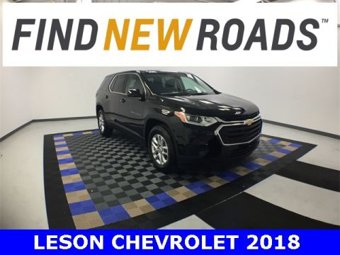 New 2018 Chevrolet Traverse LS FWD 4D Sport Utility