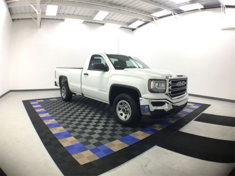 Certified Pre-Owned 2017 GMC Sierra 1500 Base RWD 2D Standard Cab
