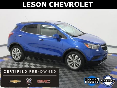 Certified Pre-Owned 2018 Buick Encore Preferred FWD 4D Sport Utility